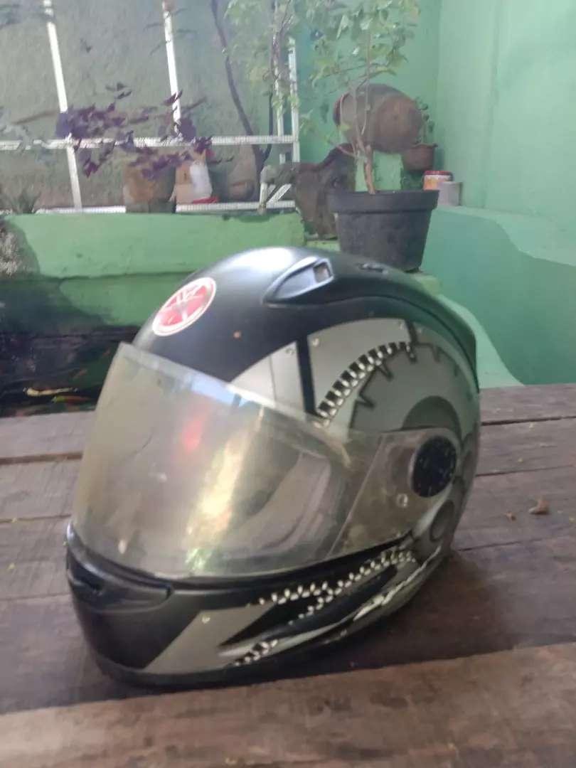 Helm Yamaha bison ORI ga pernah dipake 0