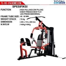 home gym 1 sisi tl-014 / homegym total tl 014 mojokerto