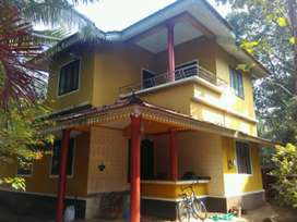 Road frontage home for sale.