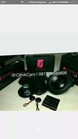 Sound system mobil paket lengkap by fonalivo**