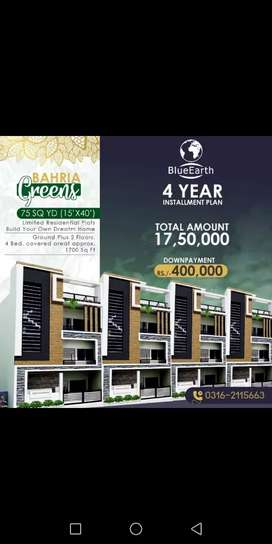 Build your dream home in Bahria Green City
