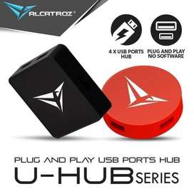 USB Hub Alcatroz 4-Port 4 Usb