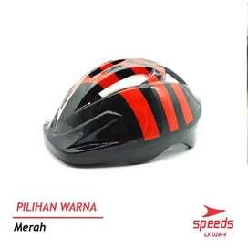 Helm sepeda anak merk Speeds