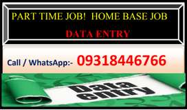 Genuine home base work part time job data entry home base work1!!