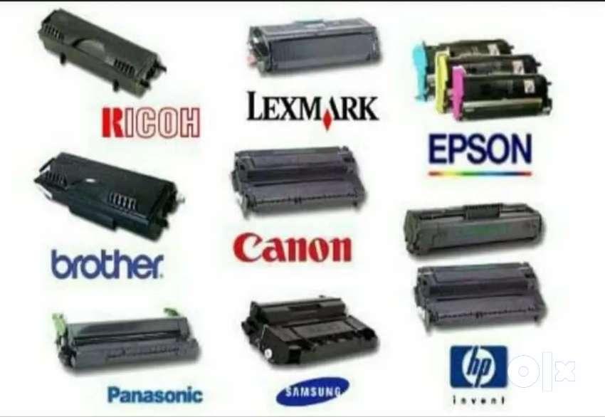 Toner Reffiling; printer repair and Computer stationery 0