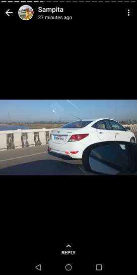 Hyundai Fluidic Verna 2012 Diesel 95000 Km Driven good candition army