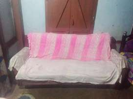 three seater sofa  and with two single sofa