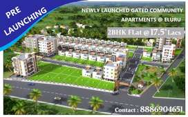 2BHK for 17.5*Lacs only vth Amenities @ELURU: NEW LAUNCHING OFFER