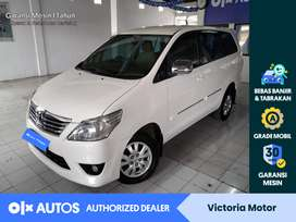 [OLX Autos] Toyota Innova 2013 2.5 G AT Automatic Diesel Putih