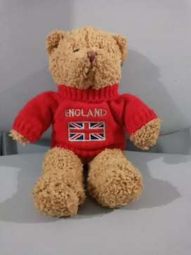 Boneka Teddy Bear souvenir ori made in England.