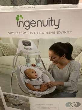 Ingenuity  baby cradling swing