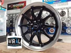 Velg Mobil Brio Ring 15 Celong Lebar 7/8 Racing HSR Free Ongkos Kirim