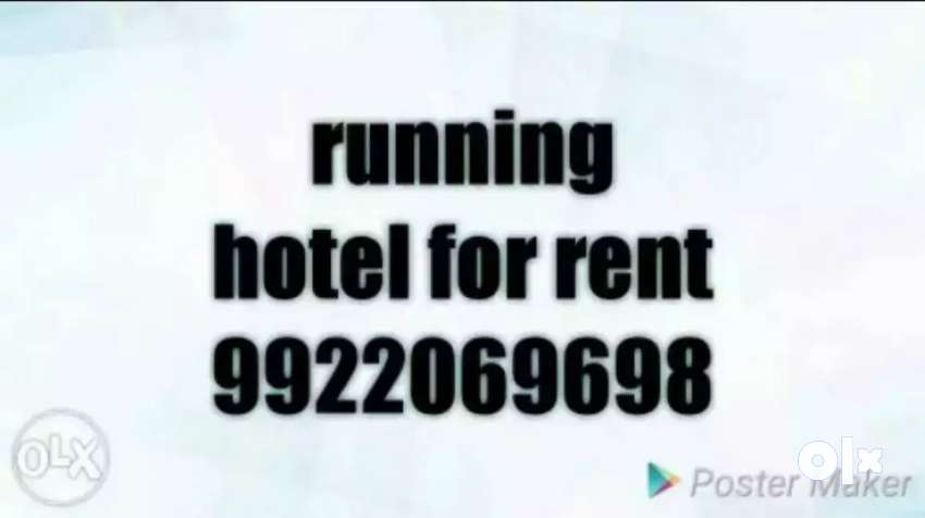 Running hotel for rent in sadashiv peth near S. P. College 0