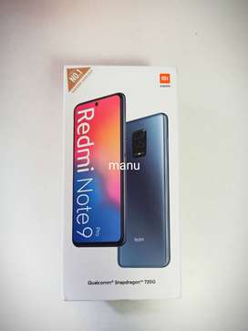 Redmi Note 9 Pro & Max sealed pack brand new