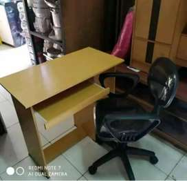 1 set meja kantor komputer + kursi siap antar