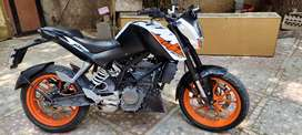 KTM Duke 200cc  Service done on 8 April