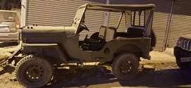 Good condition short body jeep di engine