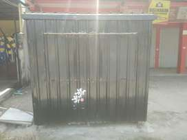 Rombong semi kontainer/Container Booth masih mulus