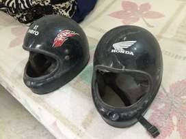 Back seater Helmets