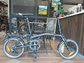 Sepeda lipat united trifold 3s bisa kredit proses menit