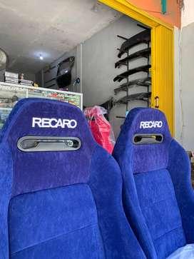 JOK RACING RECARO SR3 SUEDE RACINGSEAT - PANGKALPINANG