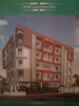 under construction New 2bhk luxuriues  flat jail road .nasik road