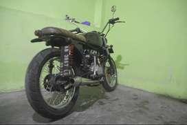 Dijual motor GL 100 custom bahan Japstyle