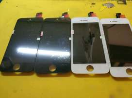 Lcd + touchscreen iPhone 5/5s garansi 1bulan bonus tempered glass