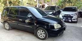 Kia carens II tahun 2005 transmisi manual bisa tt motor/mobil lain