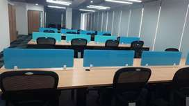 A well furnished office space at privileged location