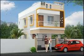 2 bhk duplex house