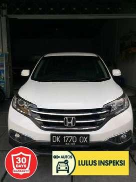 [Lulus Inspeksi] Grand CRV Prestige 2013 Putih Asli Bali Pajak
