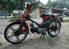 Jual motor antik c70 c50 asbul