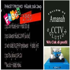 PAKET 3 HILOOK KAMERA CCTV FULL HD