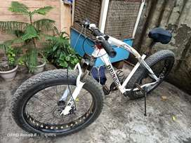 Fat bike rarely used