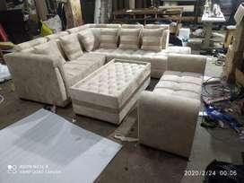 Corner sofa, L size sofa