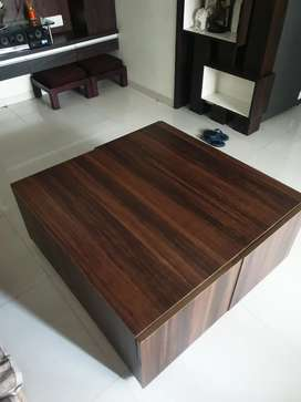Wooden Center table / teapoy for sale