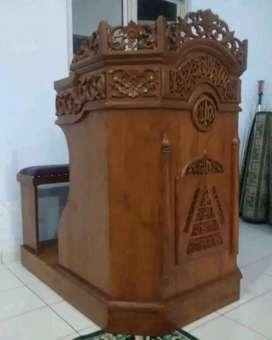 mimbar masjid murah meriah musola