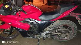 Gixxer sf with new tyres and battery
