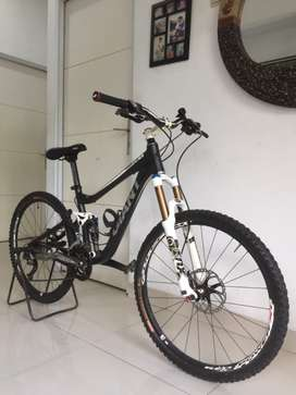 Jual Full Bike Giant Trance X nego