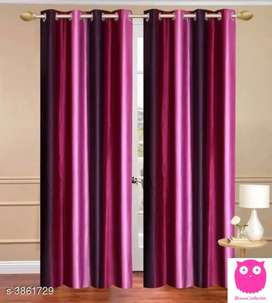 Urbane Trendy Polyester Abstract Door Curtains