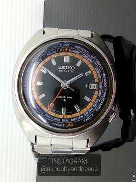 Seiko Worldtimer GMT