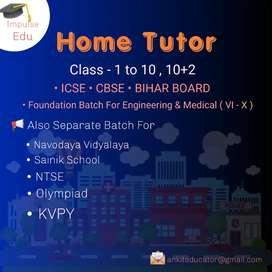 Home Tutor In Bhagalpur