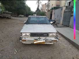 Nissan sunny saloon 1988 perfect engine 100% just have body work