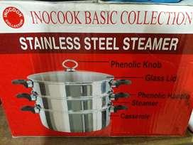 inocook stainless steamer