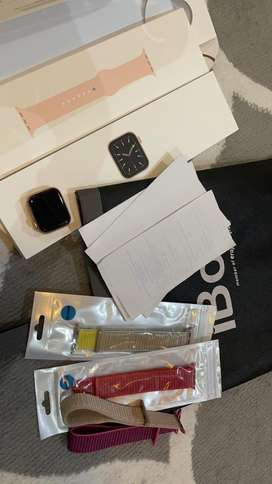 Jual Apple Watch Series 5 40mm iBox Rosegold LIKE NEW