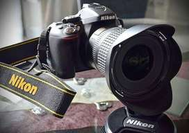 NIKON D90 With 18-105  Prime Lens and waterproof go pro bag