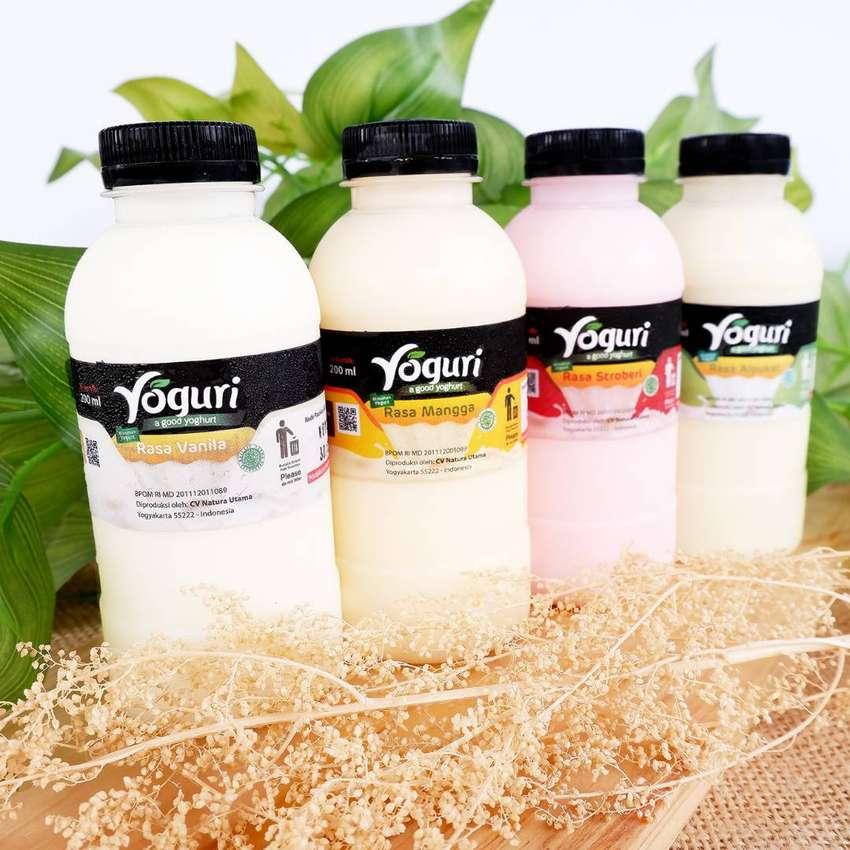 Probiotik Yoghurt / Yogurt Plain dan Aneka Rasa (Cocok untuk Salad)