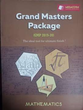 GRAND MASTER PACKAGE (FIITJEE). MATHS, PHYSICS, CHEMISTRY AND SOLUTION