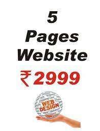 Web Design Starts at 2999 Only